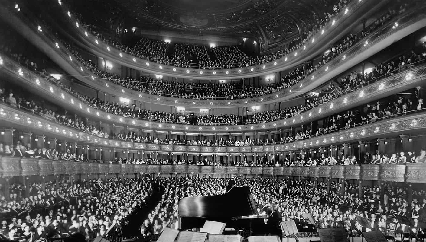 piano audience