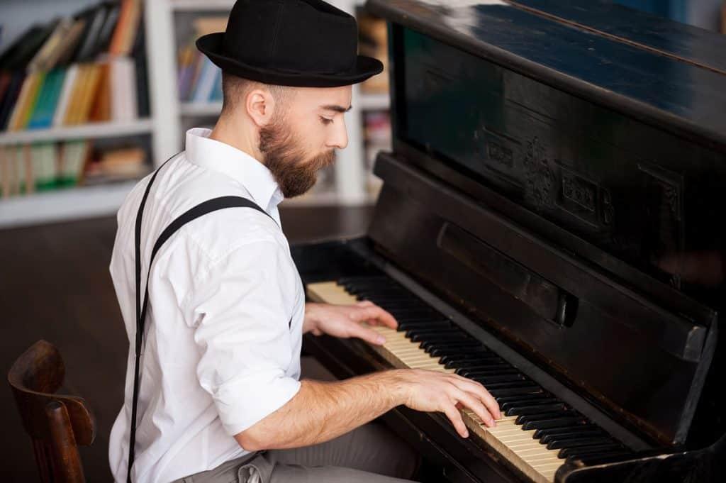 Good piano posture