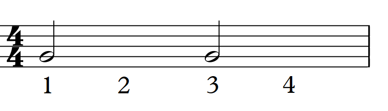 half note beats