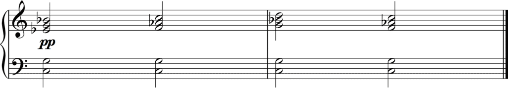 Notating the soft pedal