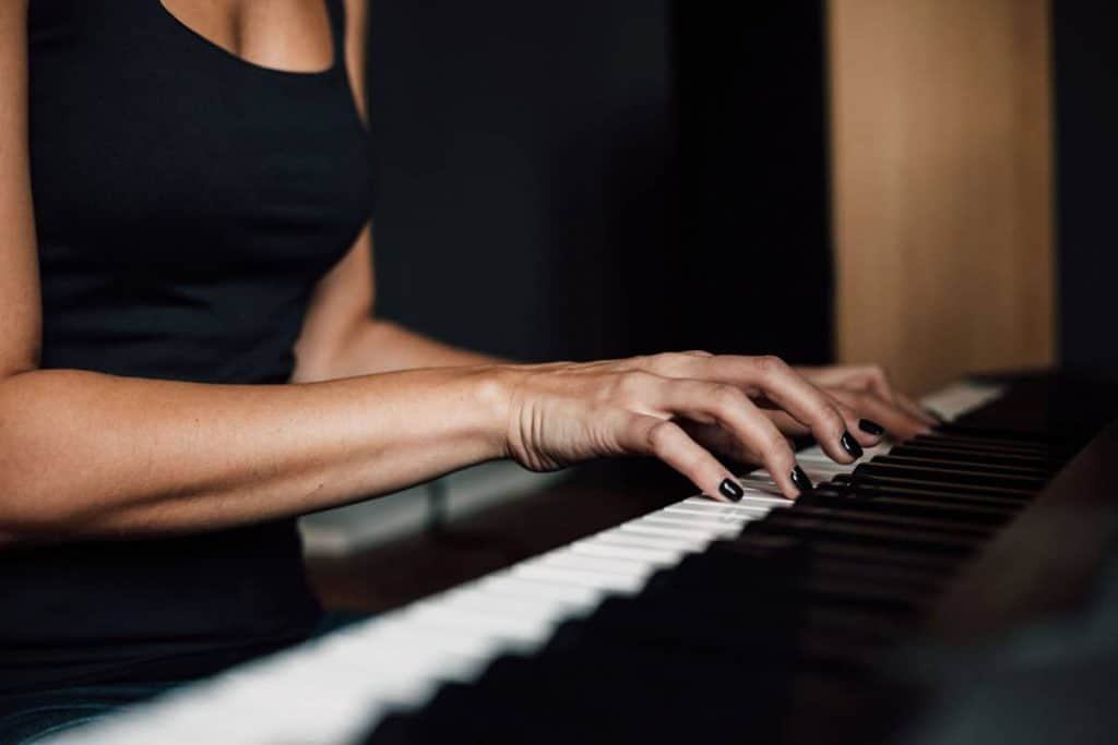 Finger Positioning On Piano