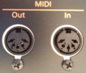 MIDI-Anschluss