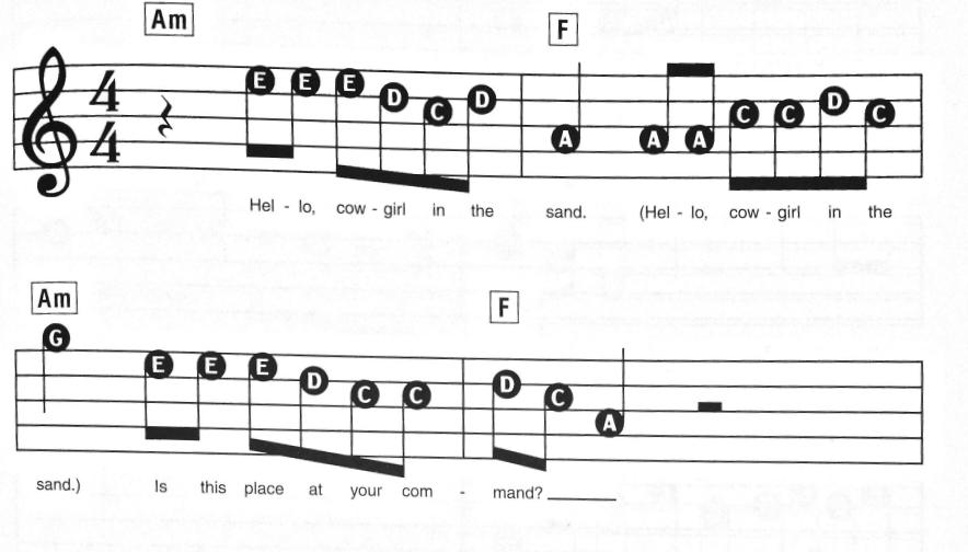 lead sheet notation