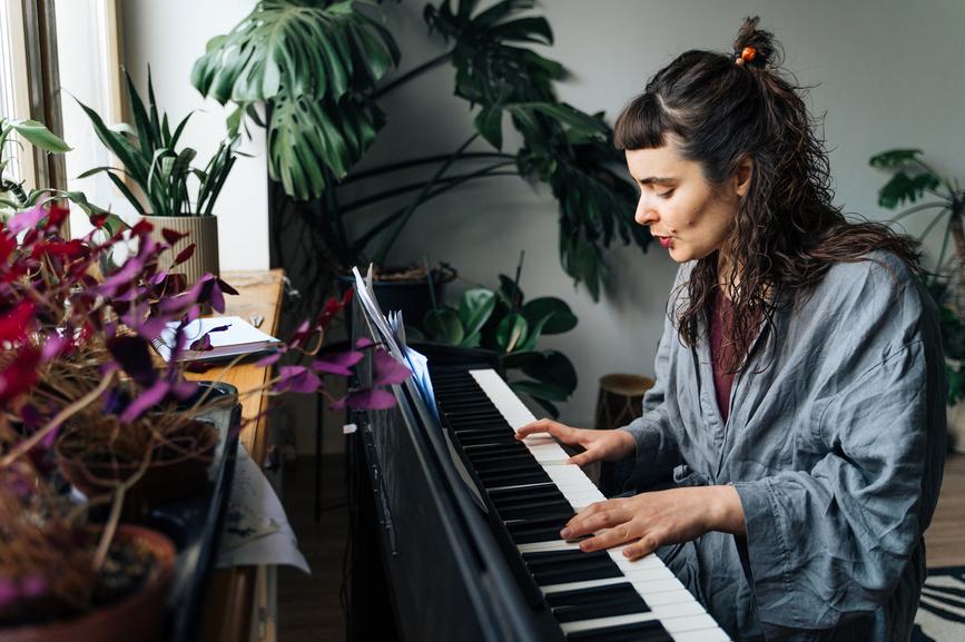 Piano rhythm exercises
