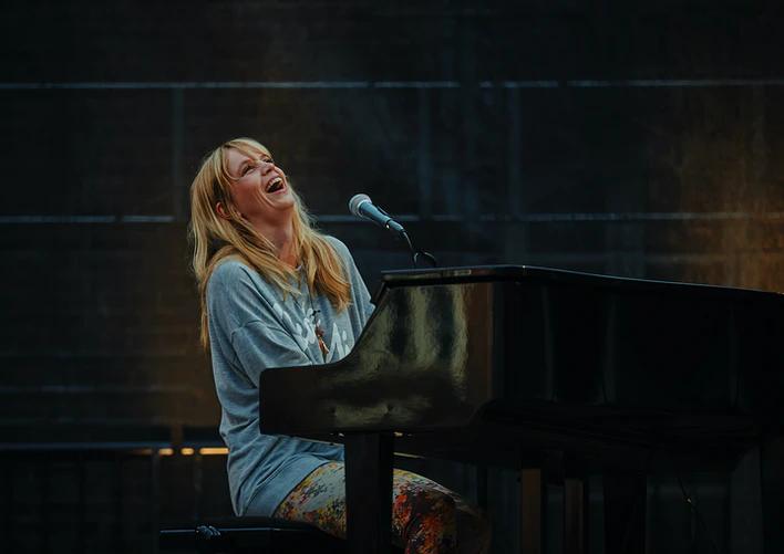piano and singing